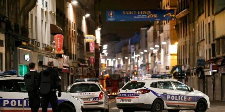 Intervention du RAID en cours à Saint-Denis