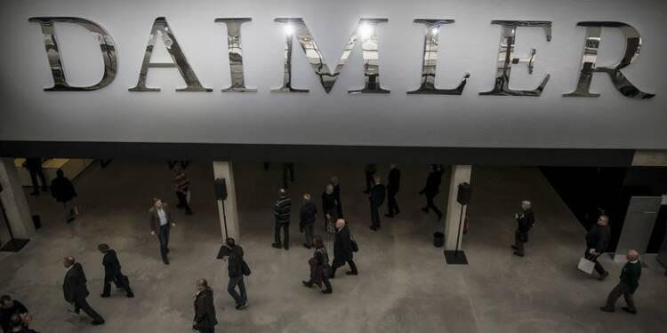Hausse de 41% du profit de Daimler au 1er trimestre avec Mercedes