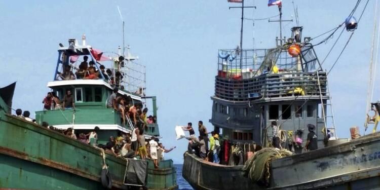 Des migrants refoulés de Thaïlande et d'Indonésie