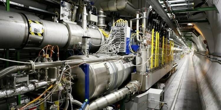Remise en service de l'accélérateur de particules LHC du CERN