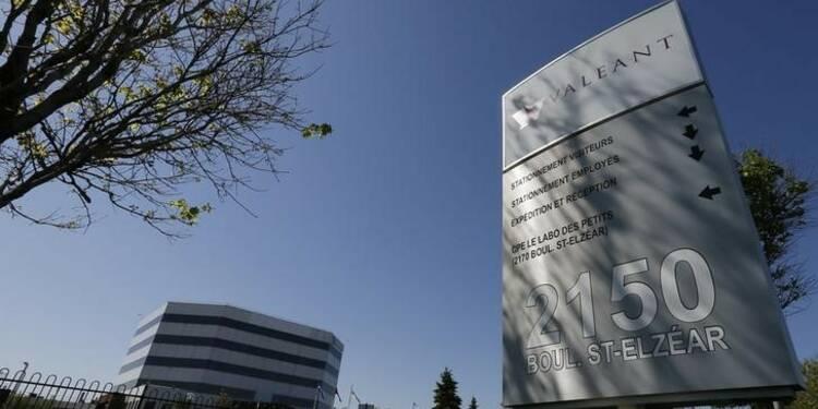Le laboratoire canadien Valeant conclut l'acquisition de Salix