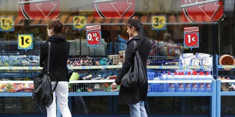 L'inflation confirmée à -0,2% en Allemagne en septembre