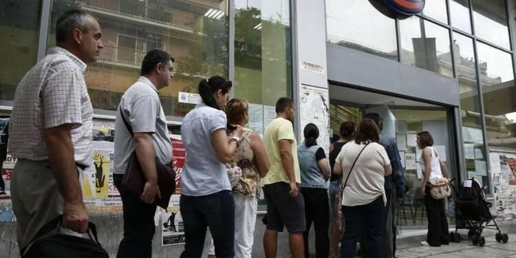 Le taux de chômage en Grèce revient à 25% en mai