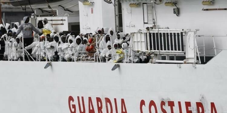 L'Italie annonce plus de 4.000 migrants secourus ce week-end