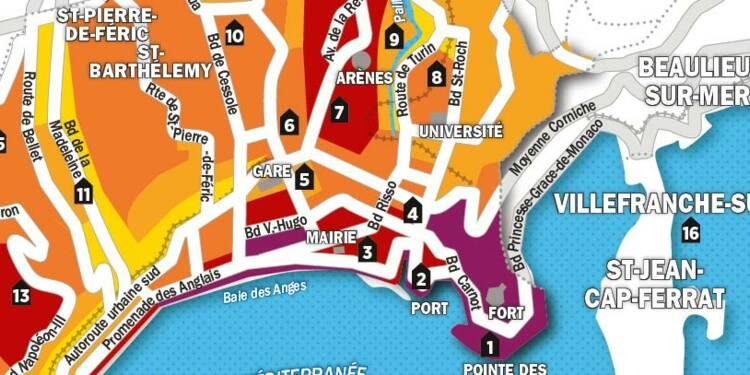 Immobilier : la carte des prix de Nice