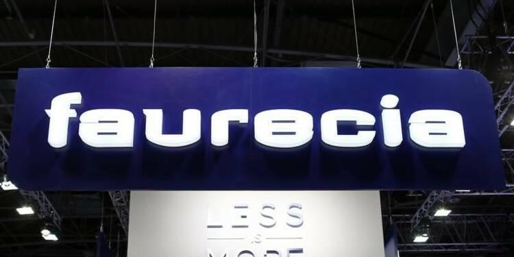 Faurecia confirme ses objectifs 2015 et ses prévisions 2016