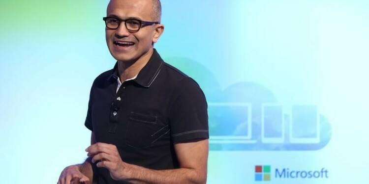 Le CA de Microsoft meilleur que prévu grâce au cloud