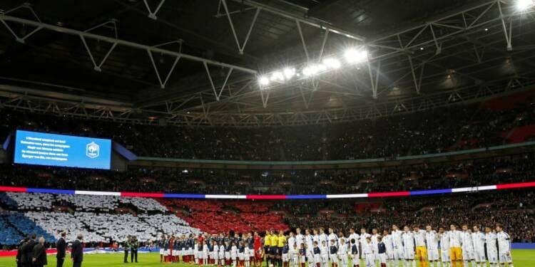 La Marseillaise reprise par les Anglais à Wembley