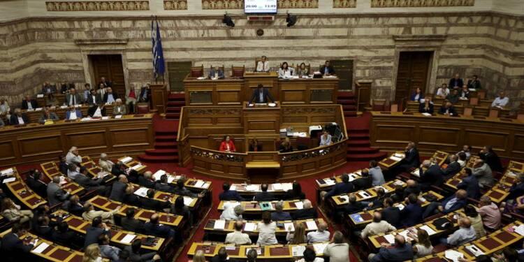 Le Parlement grec adopte un deuxième train de réformes