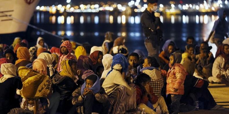 Près de 6.000 migrants sauvés en Méditerranée ce week-end