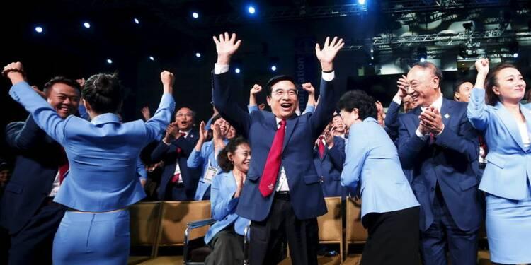 Pékin organisera les Jeux olympiques d'hiver 2022