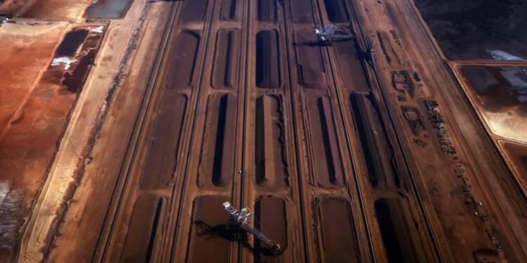 Bond de 17% des expéditions de minerai de fer de Rio Tinto