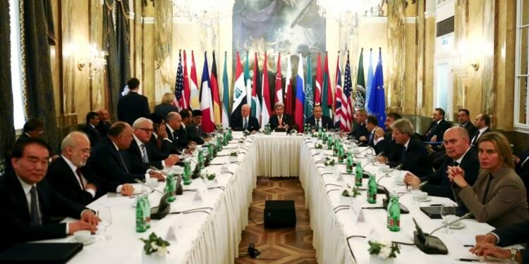 Feuille de route à Vienne sur la Syrie mais pas d'accord global
