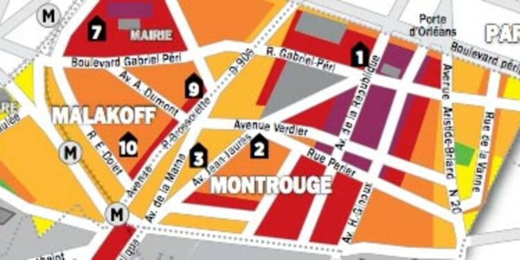 Immobilier en Ile-de-France : la carte des prix de Malakoff, Montrouge, Châtillon
