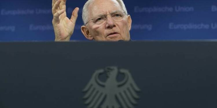 """Schäuble défend toujours l'idée d'un """"Grexit"""" temporaire"""
