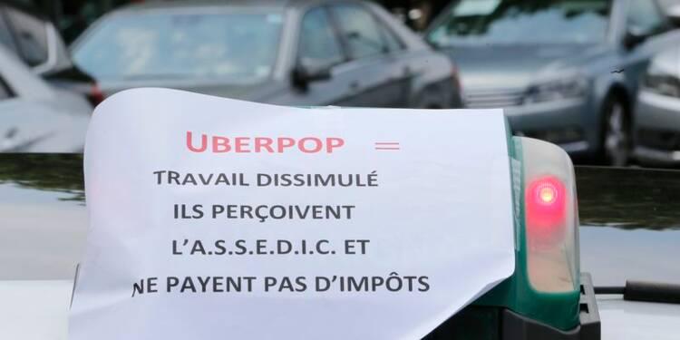Des syndicats de taxi veulent agir contre UberPOP