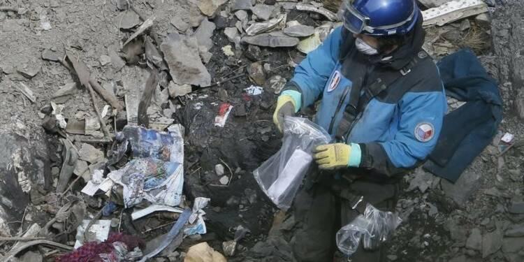 Les victimes de l'avion de Germanwings identifiées cette semaine
