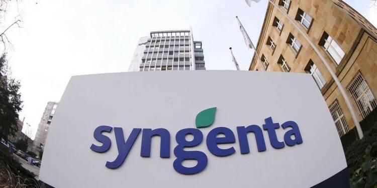 Syngenta confirme ses objectifs annuels