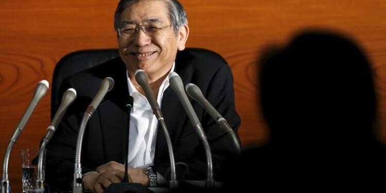 La Banque du Japon un peu plus optimiste sur l'économie