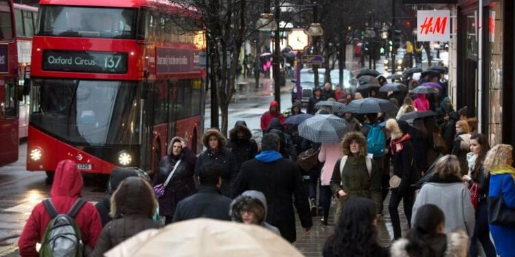 La croissance des ventes au détail a ralenti en Grande-Bretagne