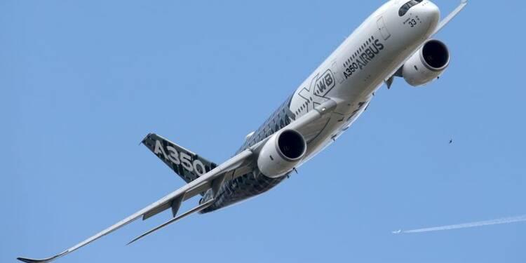 Airbus engrange des commandes fermes pour 124 avions au Bourget