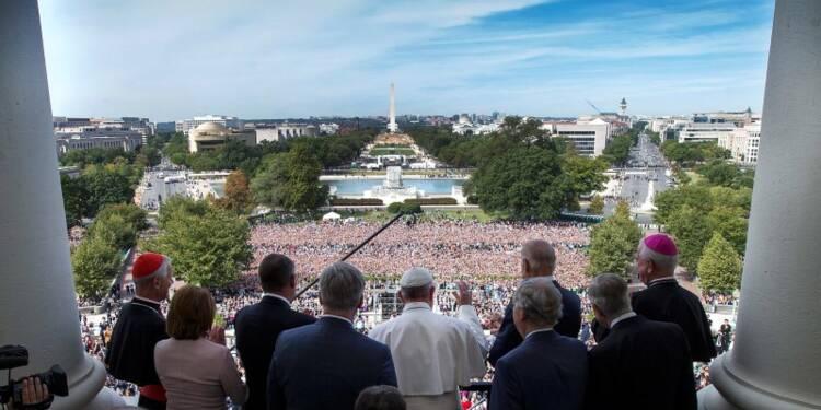 Le pape plaide la cause des immigrants au Congrès américain