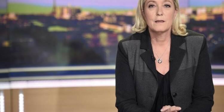 """Marine Le Pen annule sa présence à """"Des paroles et des actes"""""""