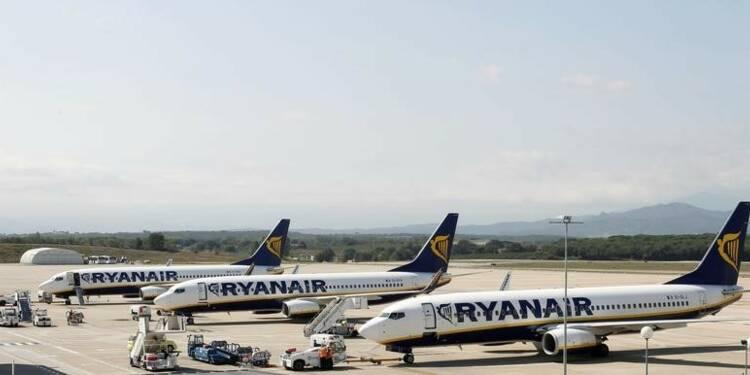 Ryanair affiche un bénéfice annuel en hausse de 66%