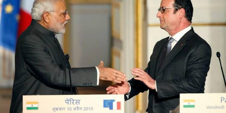"""Accord pour la vente de 36 Rafale """"prêts à voler"""" à l'Inde"""