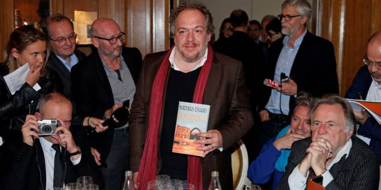 """Le prix Goncourt attribué à Mathias Enard pour """"Boussole"""""""