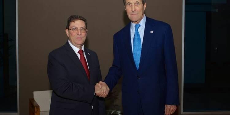 Rencontre historique entre chefs des diplomaties US et cubaine