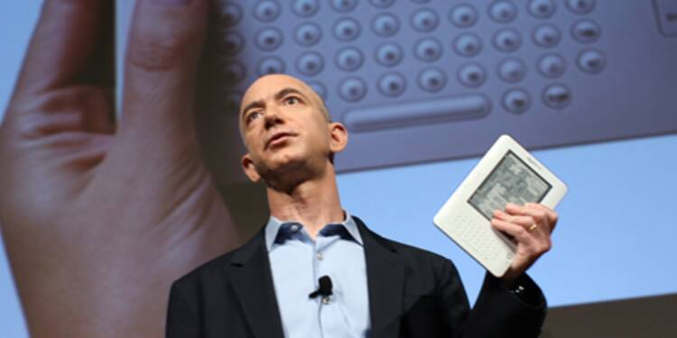 Amazon lance sa liseuse Kindle en France