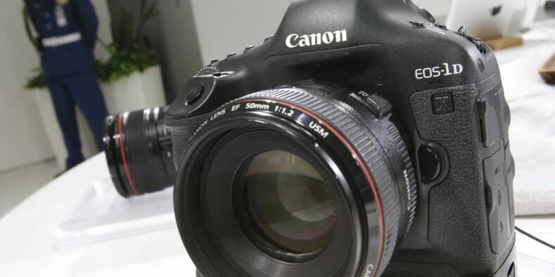 Canon déçoit avec un bénéfice en recul de 29% au 1er trimestre