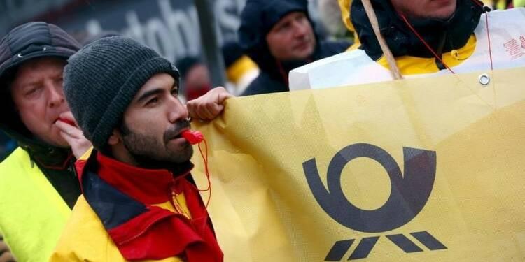 Grève suspendue chez Deutsche Post jusqu'aux négociations