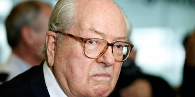 La justice annule la suspension de Jean-Marie Le Pen