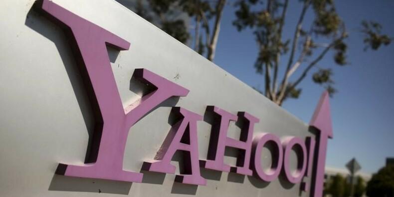 Yahoo annonce un chiffre d'affaires en baisse de 4%