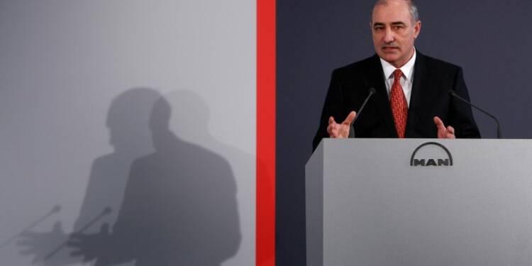 Le directoire de MAN remodelé sous l'influence de Volkswagen
