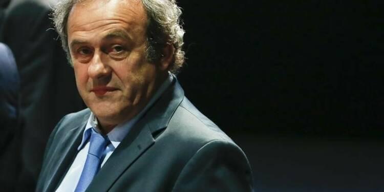 La France aimerait voir Michel Platini à la tête de la Fifa