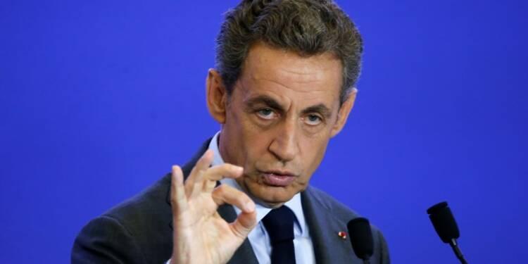 Nicolas Sarkozy arriverait en tête de la primaire, selon BVA