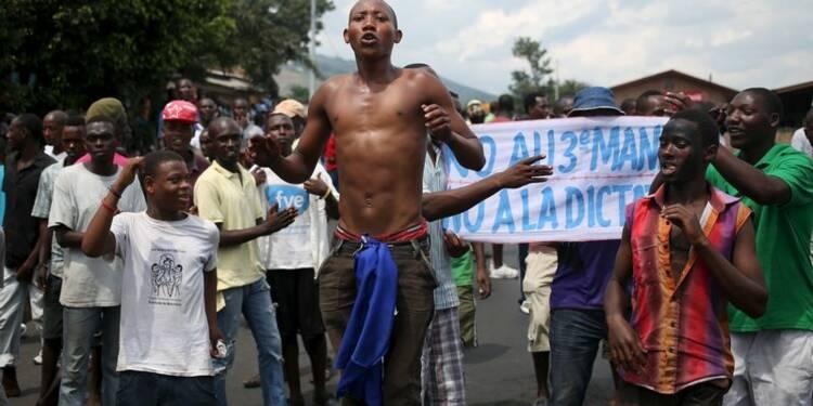 Bujumbura assimile les manifestants à des putschistes