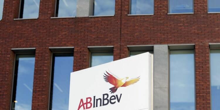 AB InBev relève sa prévision de CA, le titre gagne 2%