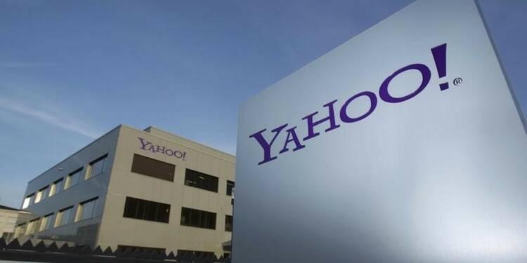 Yahoo rate le consensus et l'action recule de 2%