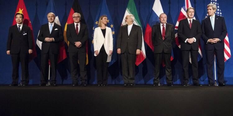 Accord-cadre sur le nucléaire iranien à Lausanne