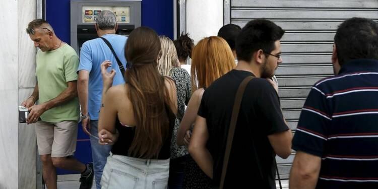 Pénurie d'euros pour les grecs