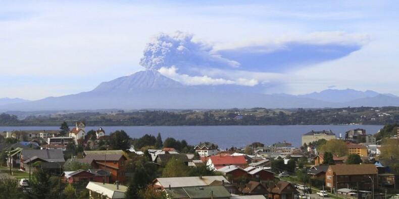 Au Chili, nouvelle éruption du volcan Calbuco