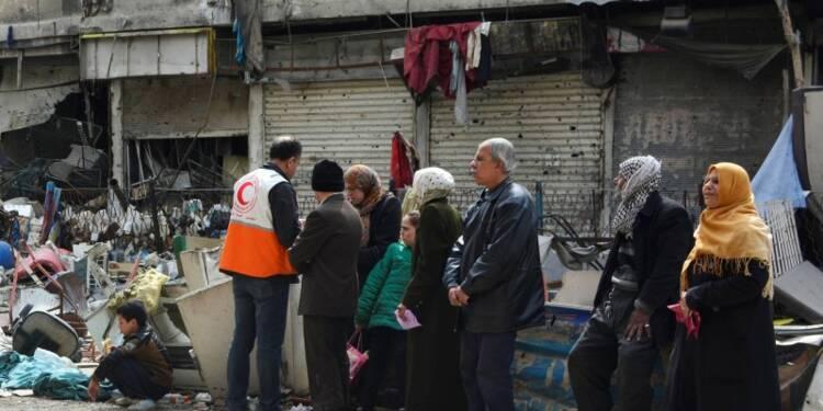 L'EI contrôle en partie le camp de Yarmouk, dans le sud de Damas