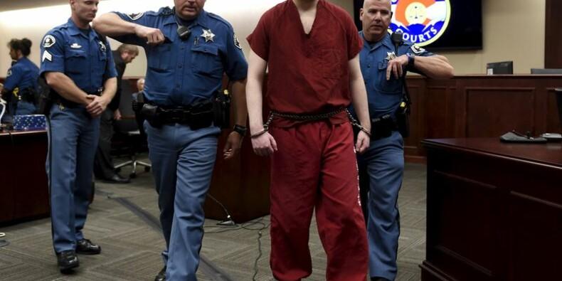 L'auteur de la tuerie d'Aurora condamné 12 fois à la perpétuité