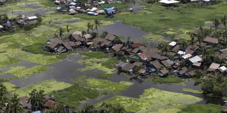 En Birmanie, l'aide peine à arriver jusqu'aux régions inondées
