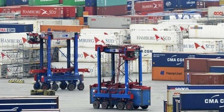 L'Allemagne dégagerait un excédent commercial record en 2015
