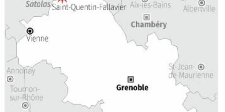 Attentat terroriste en Isère, deux blessés et un mort